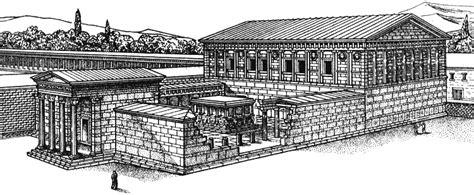 Unique Bedroom bouleuterion reconstruction of the council building in