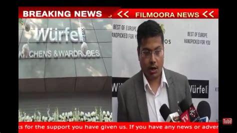 wurfel kuche amit doshi at wurfel kuche showroom launch in mumbai
