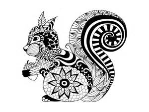 Animals coloring pages for adults coloring adult zentangle