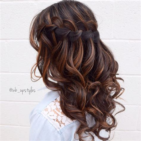 Wedding Hairstyles Instagram by Waterfall Braid For More Hair Inspiration Visit My