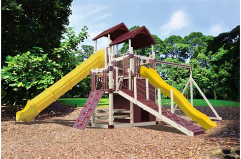 lookout swing set a7 deluxe swing set