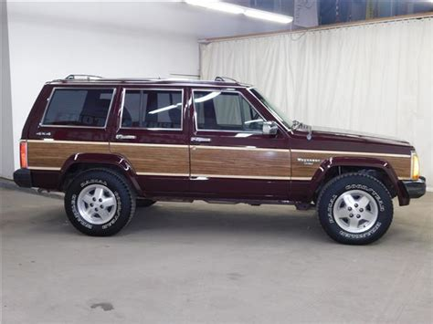 1989 jeep wagoneer limited 1989 jeep wagoneer limited 4 0l 6cyl 4wd only 126k