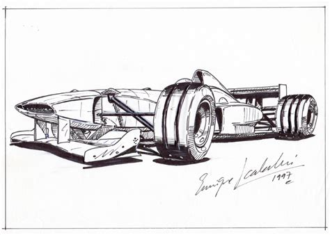 Formula 1 Sketches by Two Formula 1 Design Concepts And Another Racing Car