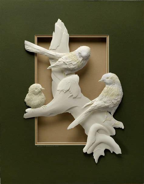 How To Make 3d Paper Sculptures - calvin nicholls incredibly detailed 3d paper sculptures