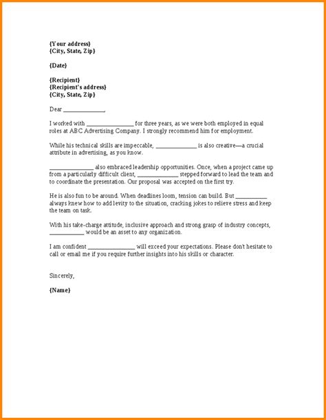 Recommendation Letter Format For A Coworker Writing A Letter Of Recommendation For A Colleague User Frudgereport47 Web Fc2