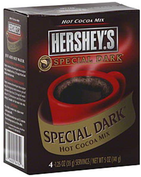 Hersheys Cocoa Bubuk Cocoa Hershey Special hershey s cocoa mix special 4 0 ea nutrition