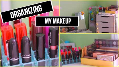 Youtube Organizing | organizing my makeup youtube