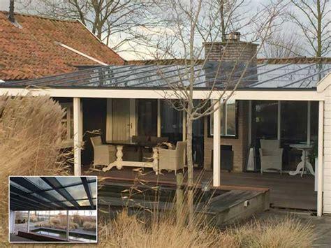 veranda zonnepanelen veranda met heldere zonnepanelen uw verandaspecialist
