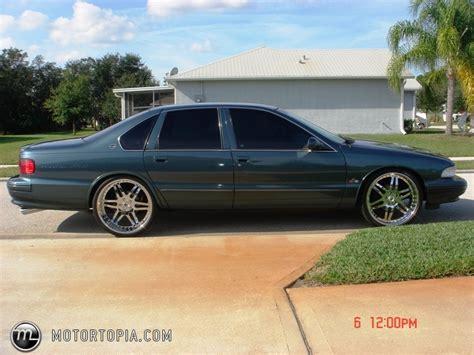 chevy impala 1998 1995 chevrolet impala information and photos zombiedrive