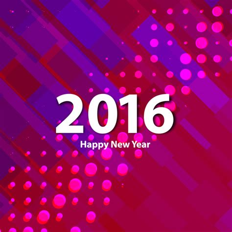 new year 2016 graphic design colorful happy new year 2016 background free vector in
