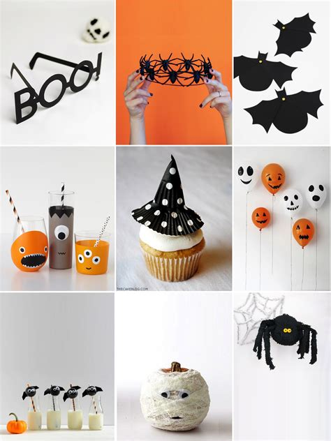 Easy Party Decorations To Make At Home | 9 easy party decorations to make this halloween petit