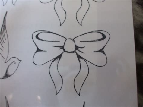 tattoo designs bows bow drawing www pixshark images galleries