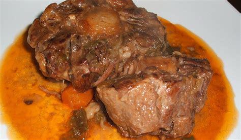 cocinar rabo de ternera la cocina bichillo rabo de ternera en salsa