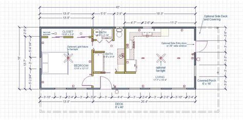 Double Wide Floor Plans 4 Bedroom by 16x50 House Plans