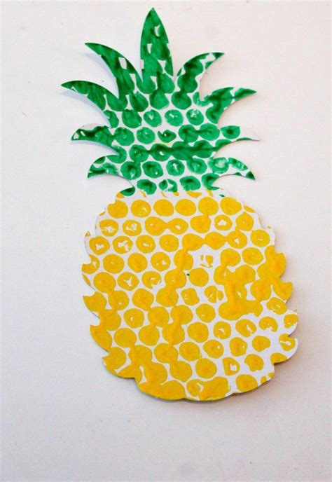 Paper Pineapple Craft - 25 best ideas about pineapple craft on
