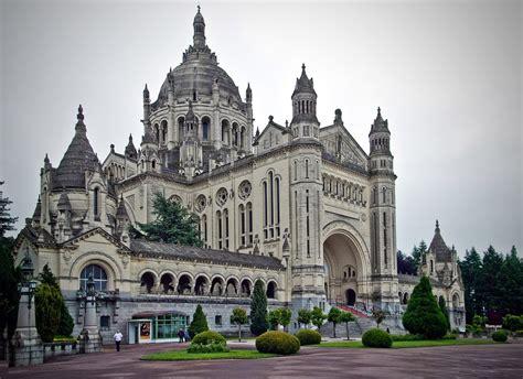 st therese basilica lisieux france panoramio photo of basiliek of lisieux france