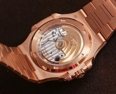 Jam Patek Phillipe Nautilus Rosegold Bracelet Clone patek philippe gold nautilus ref 5711 1r 001 swiss ap watches