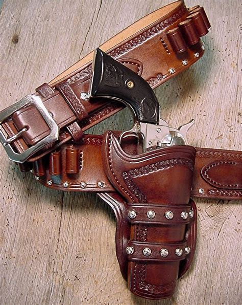 western holsters west leather buckles cowboy