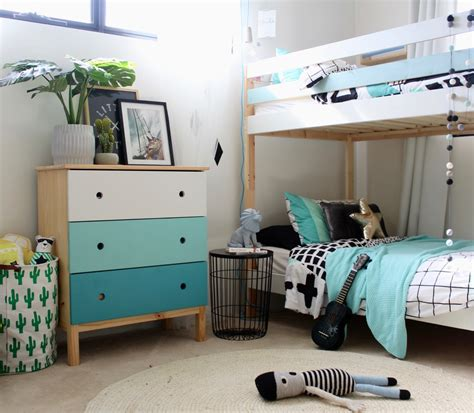 Mydal Bunk Bed by Ikea Mydal Bunk Bed Hack Four Cheeky Monkeys