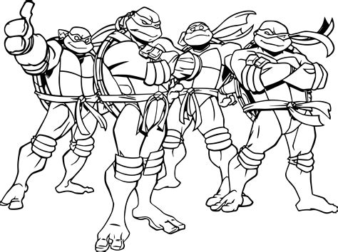 ninja turtles coloring in pages ninja turtles coloring pages coloringsuite com