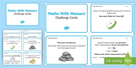 year 6 maths challenge cards maths measure problems challenge cards maths measure