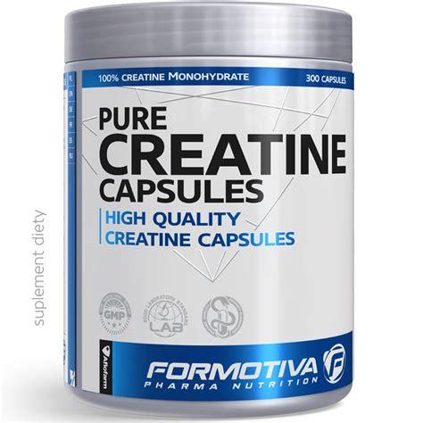 creatine w tabletkach formotiva cratine 300kaps czysta kreatyna w