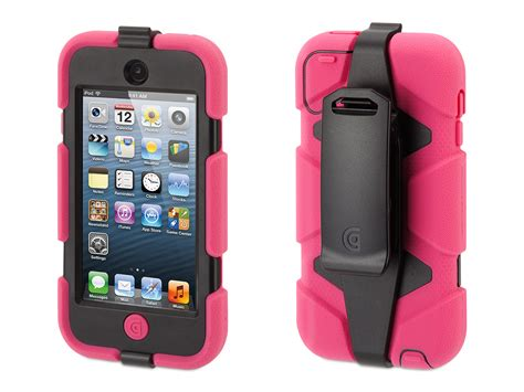 ipod touch rugged griffin ipod touch 5th 6th rugged survivor all terrain belt clip ebay