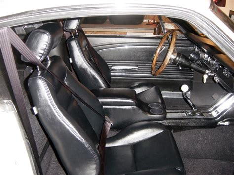 65 Mustang Upholstery by High Back 65 Mustang Seat Interchangeable Mustangforums