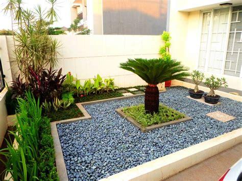 Batu Koral Putih Untuk Taman desain taman minimalis batu alam asri taman minimalis di