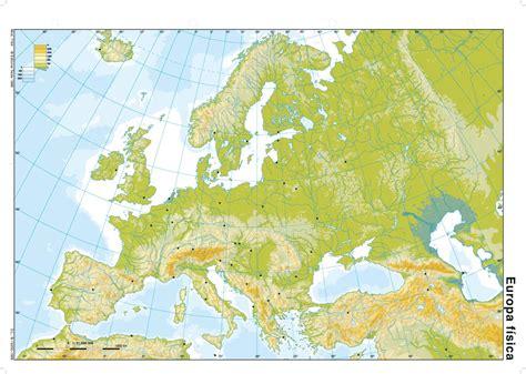 espaa y europa mapas mudos espa 241 a y europa geohistoriaymas