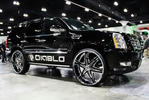 Cadillac On Rims Cadillac Escalade Wheels Wheels And Tires 18 19 20 22 24 Inch