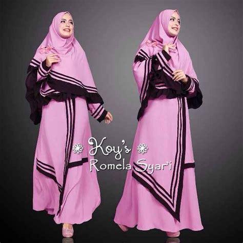 Model Baju Muslim Gamis Terbaru Dan Modern Lk Marisa model baju gamis modern terbaru romela koys