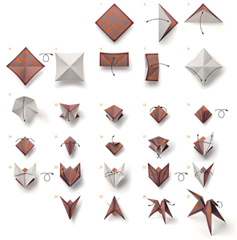 How Much Does Origami Paper Cost - hermes origami folding tutorial diy diy inspired