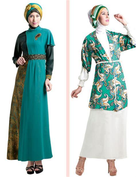 Fashion Busana Muslim Model Busana Muslim Klasik Elegan Trendy Untuk Wanita 2015