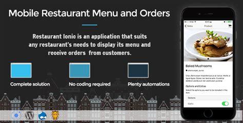 themeforest ionic app restaurant ionic download full application