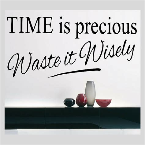 Wall Stickers Design Your Own top 10 wall quotes about time for your new year s eve party