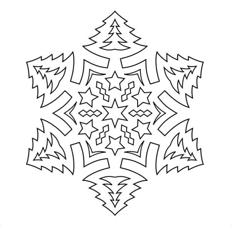 printable snowflake patterns pdf snowflake templates 49 free word pdf jpeg png format