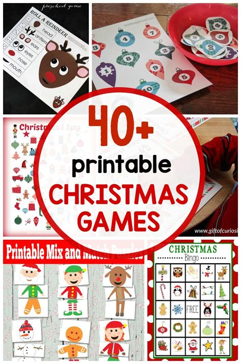 free printable christmas party decorations best 25 christmas games ideas on pinterest fun