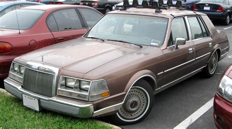 1984 lincoln continental information and photos momentcar