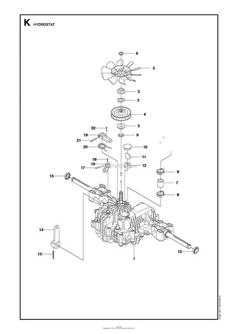 husqvarna rt    parts diagram