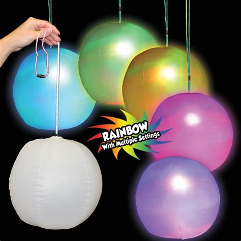 light up beach balls light up inflatable led beach ball decoration