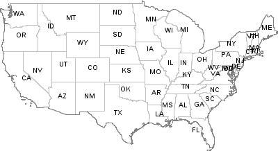 postal codes united states