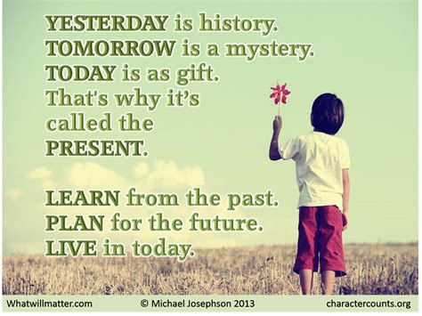 Today Child Tomorrow Future Essay In by Live In Today What Will Matter