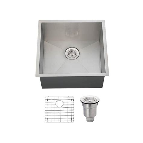 mr direct all in one undermount stainless steel 20 in