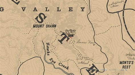 Sketched Map Rdr2 by Dead Redemption 2 The Best Secrets Easter Eggs You
