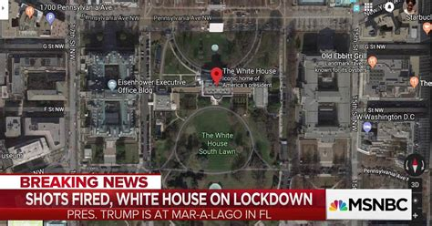 shots fired at the white house secret service responds to reports of shots fired at white house