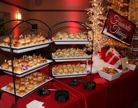 holiday parties with tasty catering