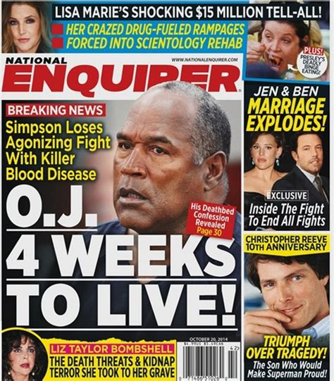 This Weeks National Enquirer Attempts by National Enquirer