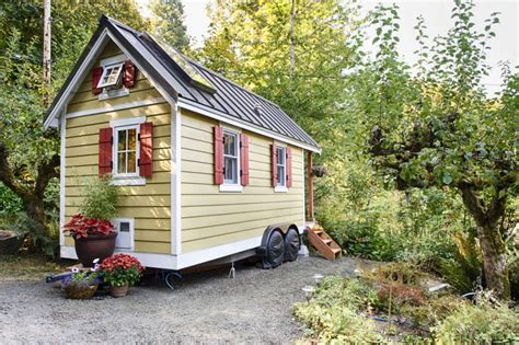 bayside bungalow tiny house built using tumbleweed fencl mobile homes idesignarch interior design architecture