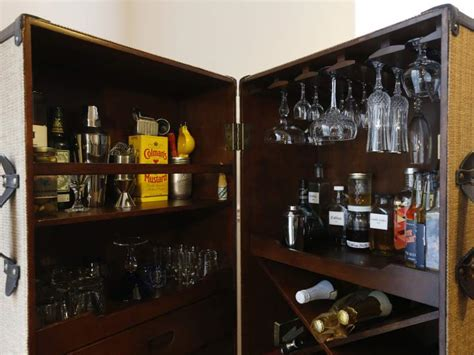 make your own cocktail cabinets and minibars diy locking